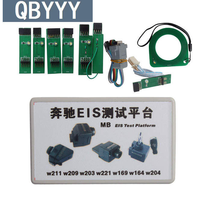 Plate-forme d'essai d'eis de QBYYY MB EIS de contrôle rapide et clé fonctionnant pour des outils de plate-forme d'essai d'eis de mercedes obd2 outil de Diagnostic automatique