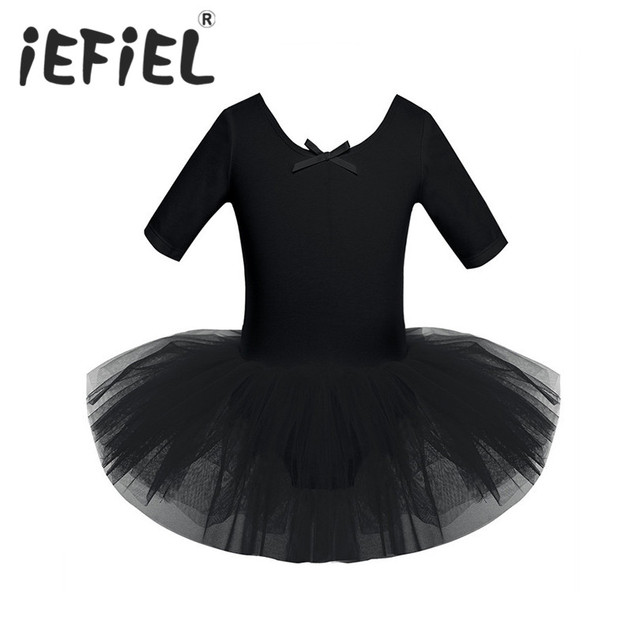 7ca6abe5bf11 iEFiEL Lovely Baby Kids Girls Dancewear Gymnastics Tutu Ballet Dance ...