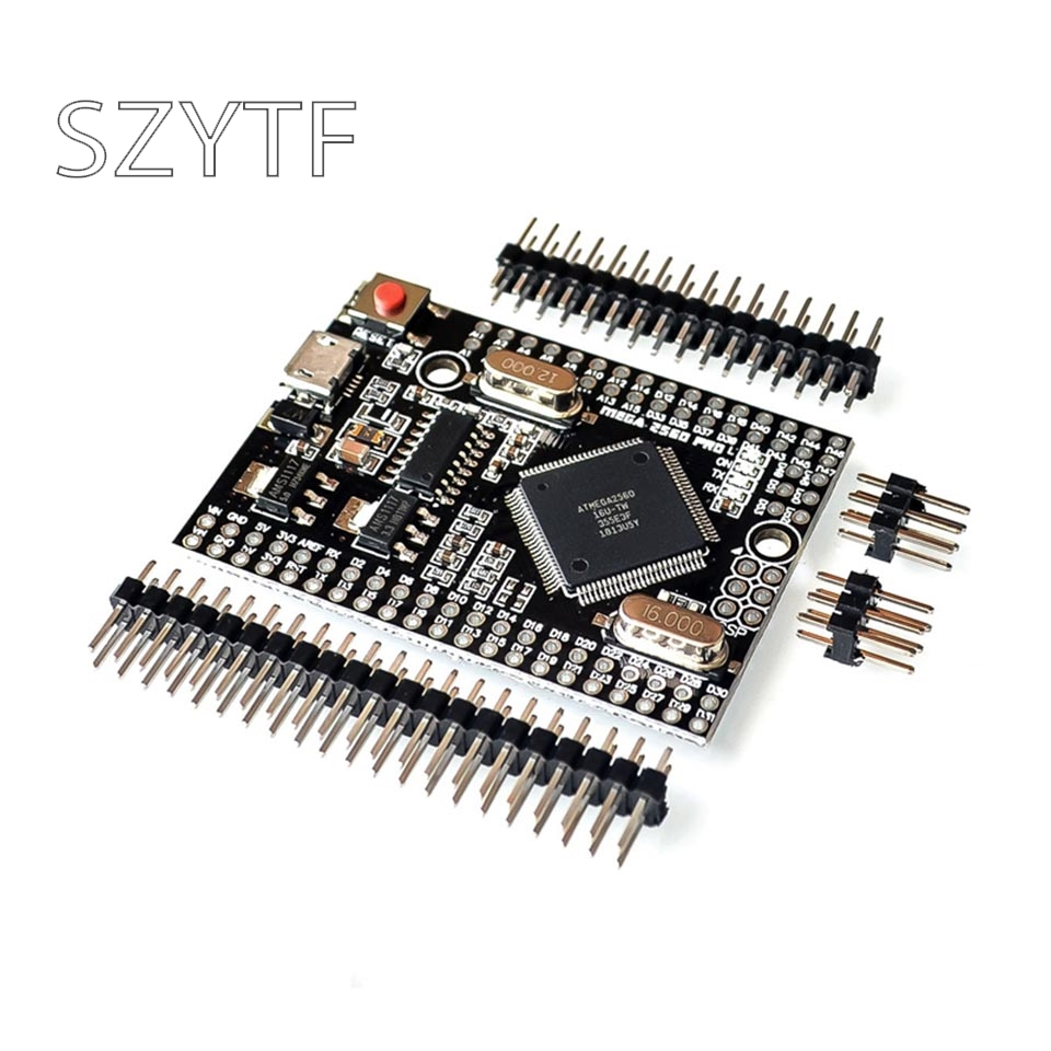 Mega 2560 PRO (Embed) CH340G/ATmega2560 16AU, with male pinheaders. Compatible for Arduino Mega 2560|Integrated Circuits|   - AliExpress