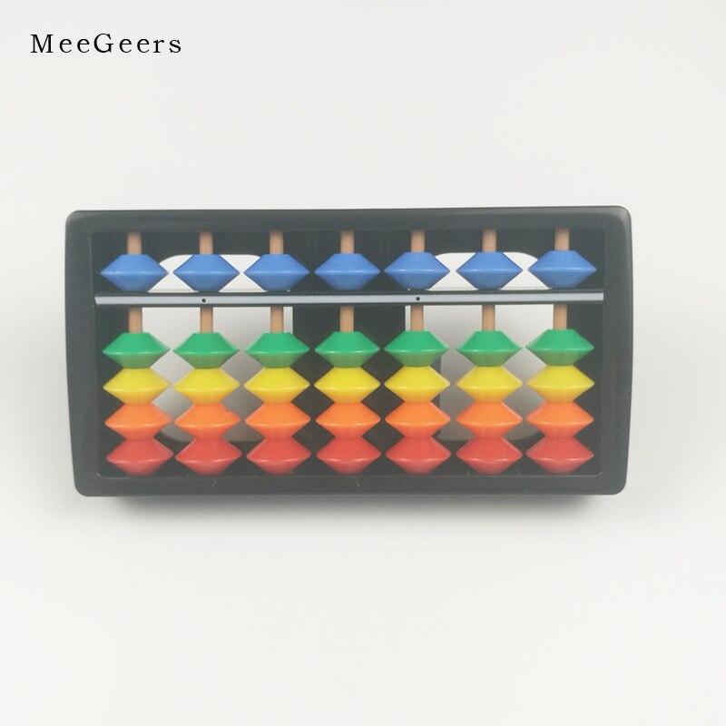 Plastic Abacus Arithmetic Soroban 7 Digits Kids Maths Calculating ...