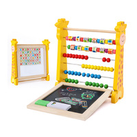 Learning Educational Math Toy 1PC Kids Number Arithmetic Abacus Building Blocks Calculation Rack Toy for Kid Gift