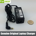 19 V 1.58A 30 W Original adaptador AC carregador para Acer Aspire One ZG5 ZA3 NU ZH6 Laptop