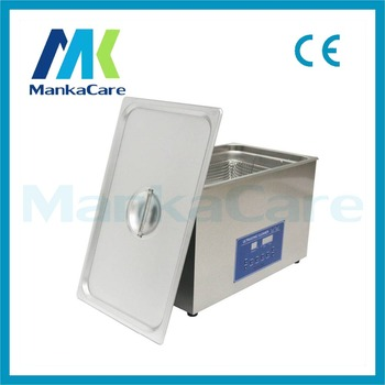 High Power Dental Stainless Steel 22L Ultrasonic Cleaner Cleaning Machine Digital Heated Cleaning Machine