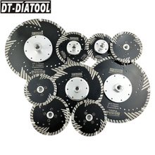ДТ-DIATOOL 2шт диаметр 4-9 горячего прессования алмазные лезвия Turbo Меля сухого или влажного вырезывания для камня бетона кирпича