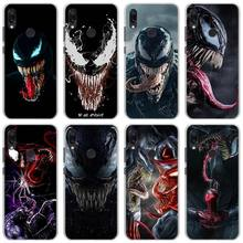 Venom MARVEL Phone Cases for Xiaomi Redmi Note 7 5 6Pro 4X 5A 6A Mi A1 A2 8 Lite Hard back case cover
