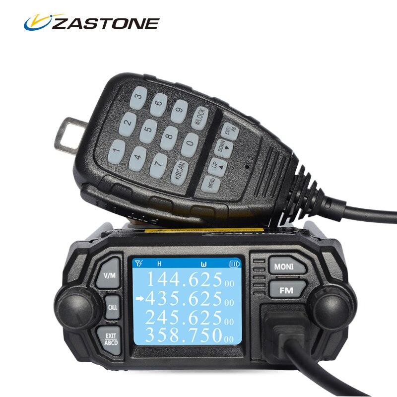 Zastone Mobile Radio Walkie Talkie MP380 VHF 136 174MHz UHF 400 480MHz 25W 20W Dual Band