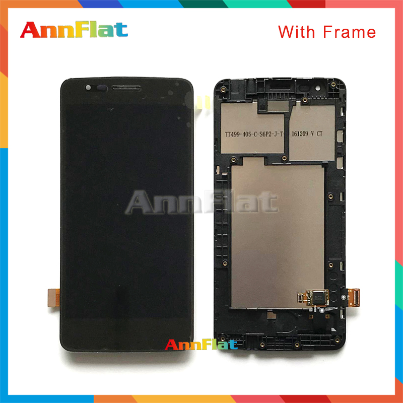 DHL 10pcs High quality 5.0'' For LG K8 2017 Dual SIM X240 X240K X240H LCD Display Screen With Touch Screen Digitizer Assembly