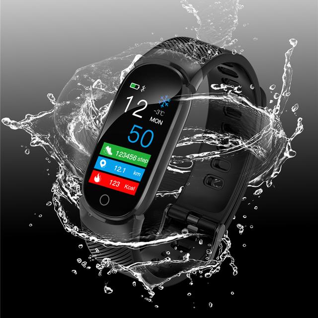 LYKRY Women Smart Watch Sport Pedometer Smartwatch Blood Pressure Oxygen Heart Rate Monitor Fitness Tracker Call Alarm Reminder