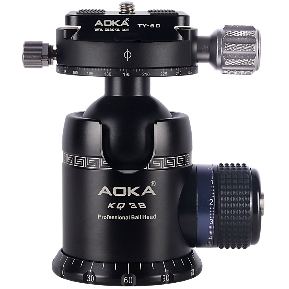 Image 5 - AOKA CMP254C Max loading 13kgs Professional travel lighweight carbon fiber compact camera tripod with no central columnTripods   -