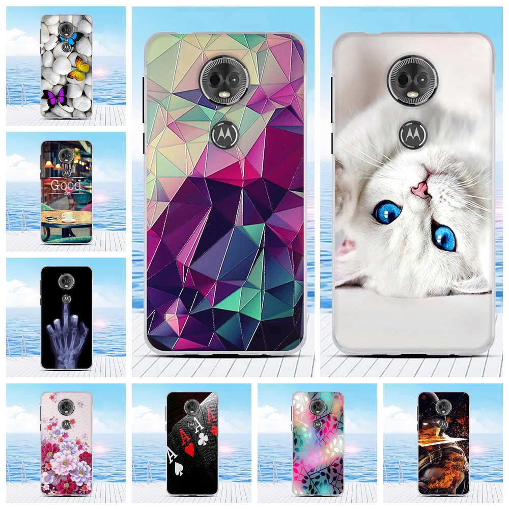 For Motorola Moto E5 Plus Case TPU Coque For Motorola Moto E Plus 5th Gen Cute Fashion Back Cover For Moto E5 Plus Shell Bumper