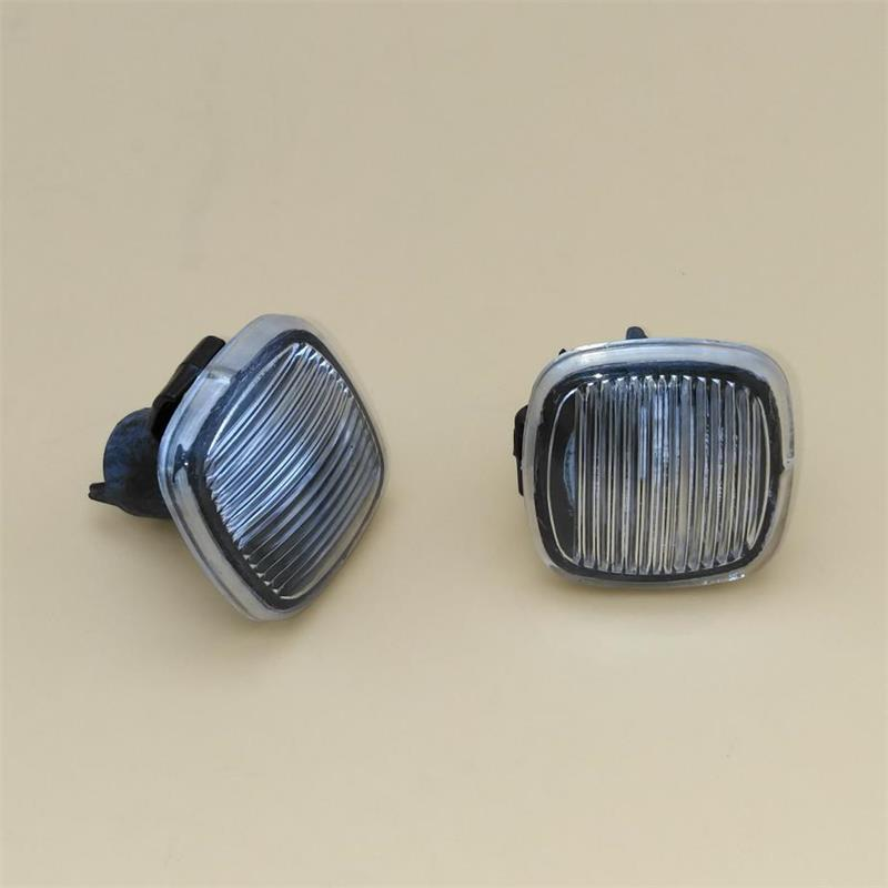 2pcs For Skoda Octavia MK1 A4 2001-2011 New Side Marker Turn Signal Light Repeater Car Styling