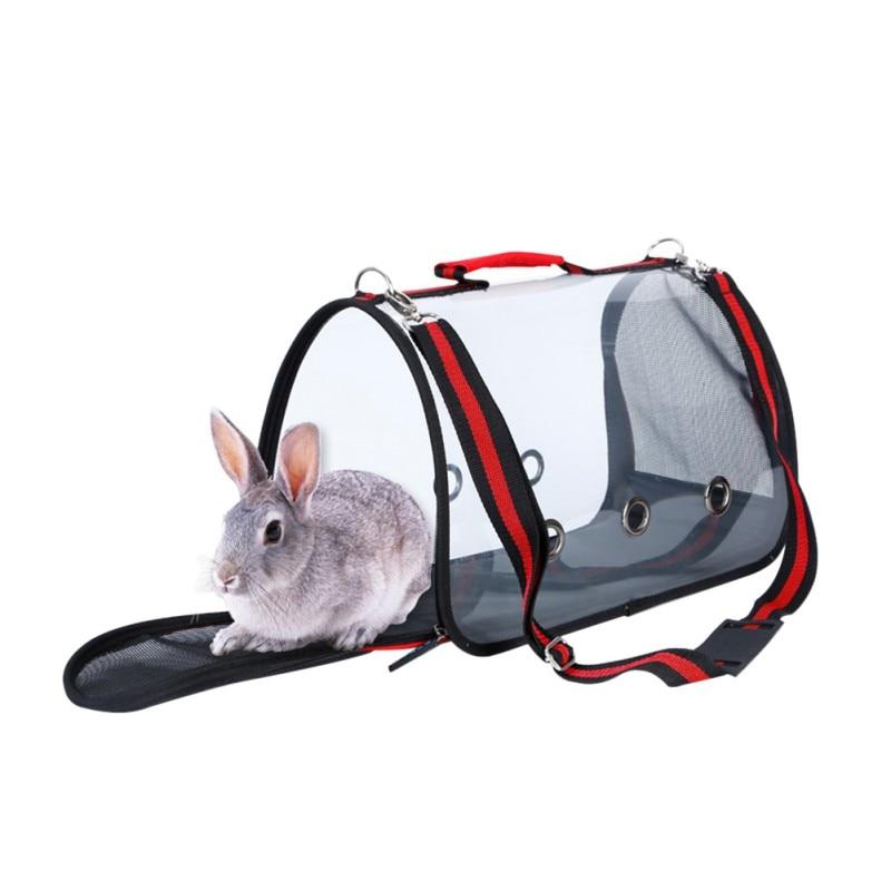 Send From USA Dog Cat Bag Portable Pet Travel Dog Carriers Handbag Travel Puppy Carrying Backpack Transparent Shoulder Bags