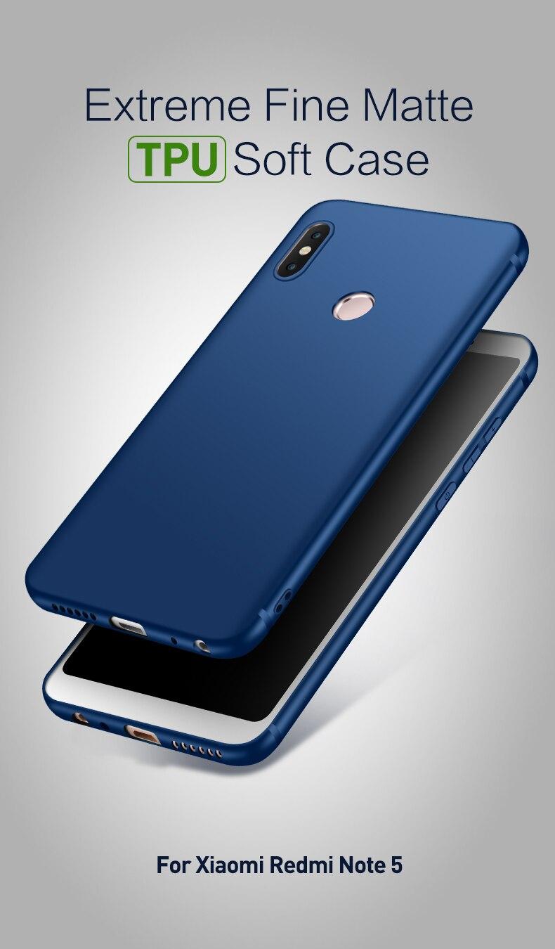 note 5 phone cases Silicone Case For Xiaomi Redmi Note 5 (1)