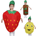 Children 's Day Fruit and Vegetable Performance Costumes Strawberry Pineapple Grape Pepper Dance Performance Clothing TRQ1112