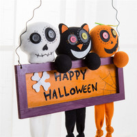 Halloween Props Suspension Label Accessories Door And Window Party Decorate Cute Wholesale Free Shipping 30Raug2