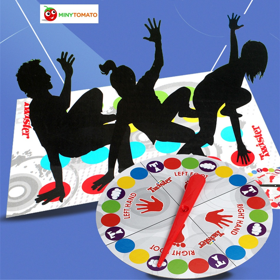2017 Fun Outdoor Sports Toys Twister Moves Game Play Mat Twisting body Creative interactive educational toys Gift for kids