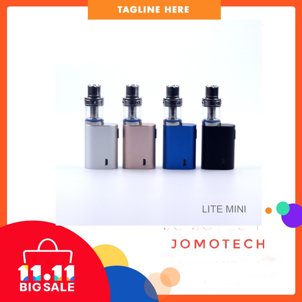 Russian Warehouse Original JomoTech Best E-cig Kit Lite Mini Vape Mod Lite 35W E-cigarettes 0.5ohm Electronic Cigarette Jomo-111 стоимость