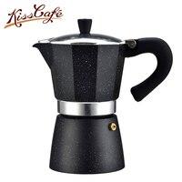 240ml Aluminum Moka Coffee Pot Makers Italian Top Moka Espresso Cafeteira Expresso Percolator Stovetop Coffee Tools