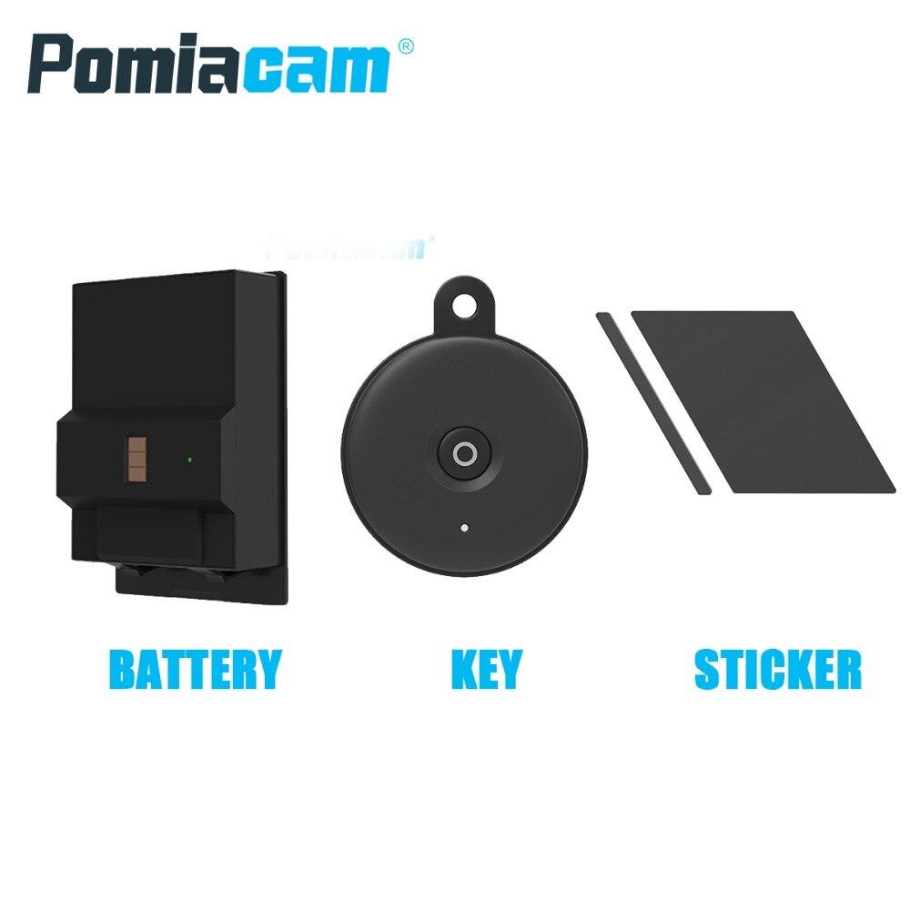 S2 Lock Accessories Of Sherlock Smart Lock S2 , Door Remote Key Control , Battery For Sherlock , Sherlock Lock Replacement Parts