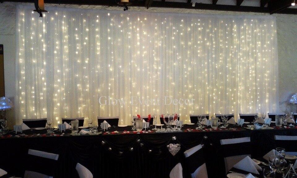 10ft X 20ft Luxury Pure White Wedding