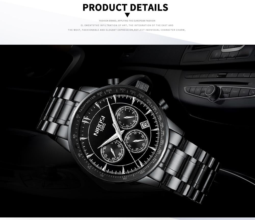 Relogio Masculino NIBOSI Quartz Watches Men Steel Band Men Watches 2018 Luxury Brand Waterproof Wrist Watches For Men Brand Saat (17)