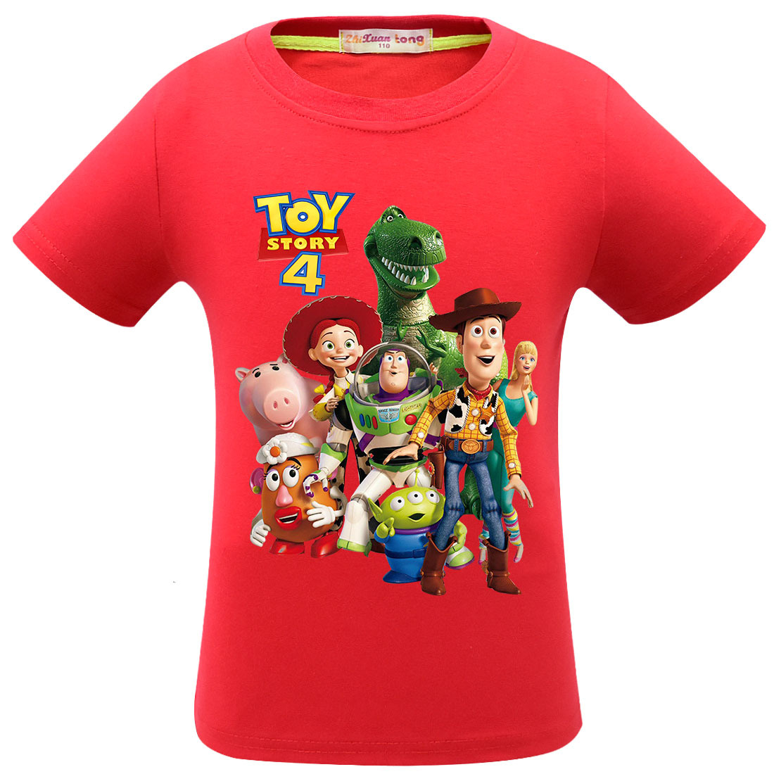 3-11 Years Toy Story 4 Forky Woody Alien Baby Kids Summer T-shirt T shirt Children Tshirts Tops Boys Girls Clothes Sports Tees(China)
