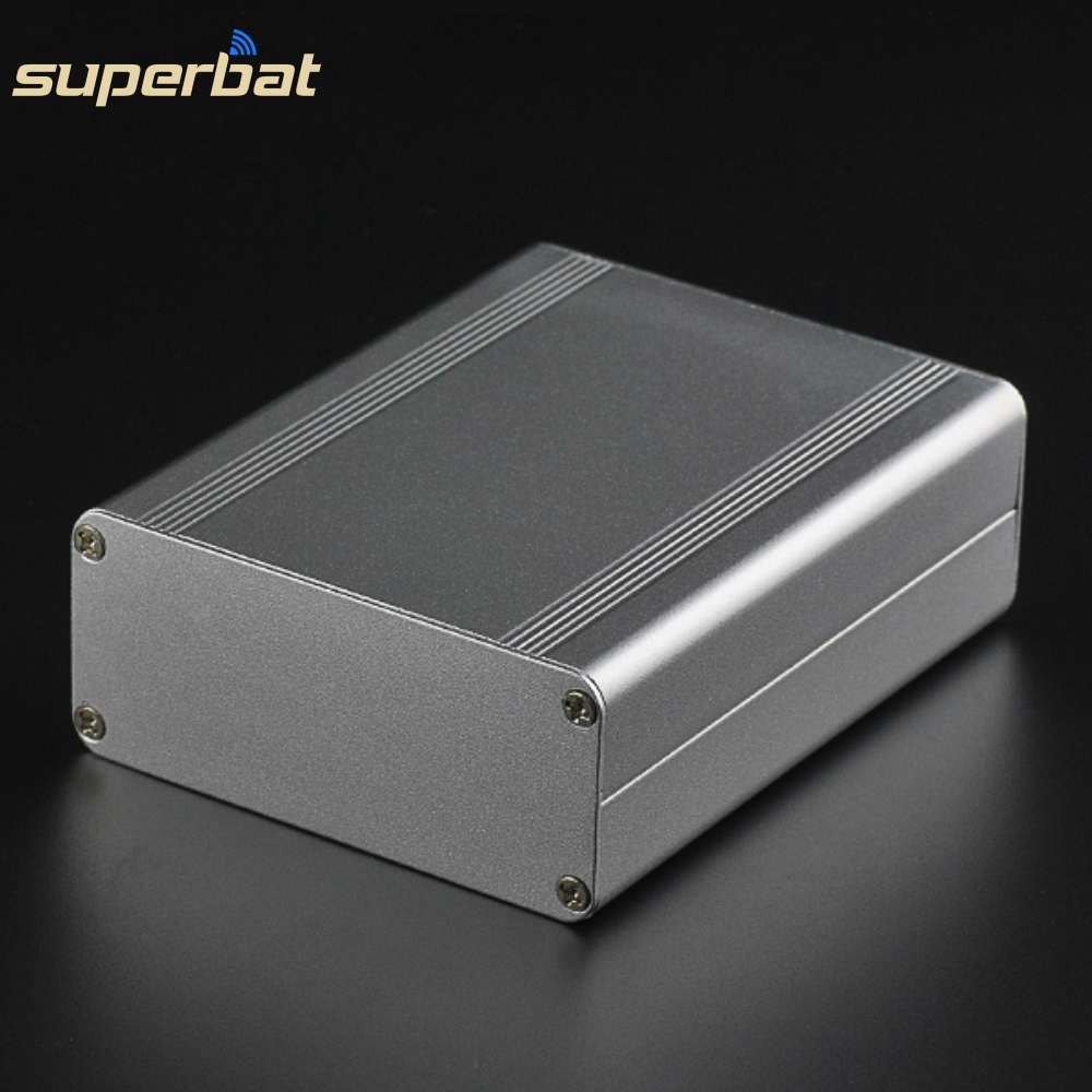 NEW 4.33″*3.46″*1.50″ Split Body Extruded Electronic Project Case Aluminum Box Instrument Enclosure DIY-110*88*38mm with Screws