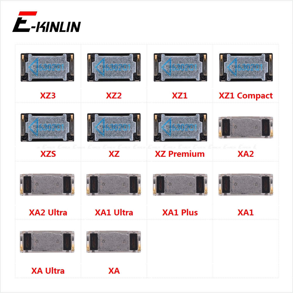 Top Ear Speaker Receiver Earpieces For Sony Xperia XZ3 XZ2 XZ1 XZS XZ XA2 XA1 XA Ultra Plus Premium Replacement Parts
