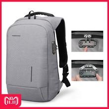 hot deal buy kingsons 2018 new school bag backpacks anti-theft lock backpack phone sucker laptop bags 13''15'' usb charging fashion backpacks