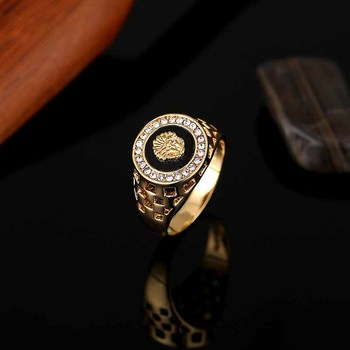 Classic Men's Punk Style Ring 1