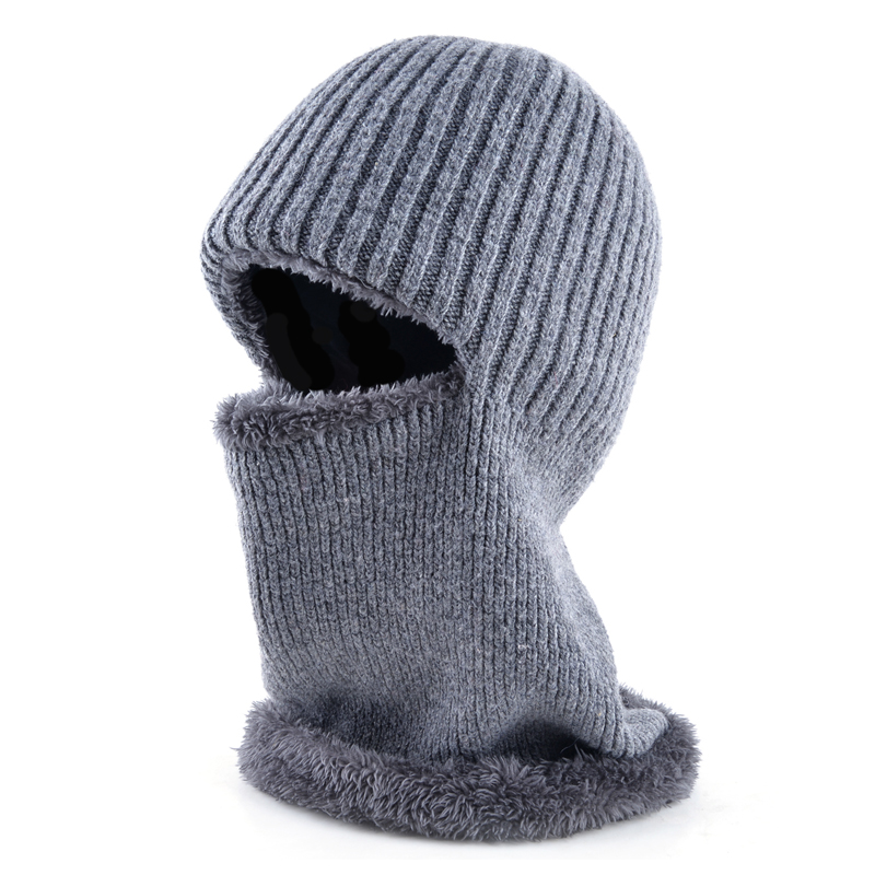 Thicker double layer fabric Winter Hats for Mens