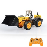 Outside Large RC Toy 1:20 42CM RC Remote Control Forklift Truck Excavator Bulldozer Charging Engineering Vehicle Children Toy