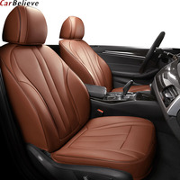 Car Believe Genuine Leather seat cover For suzuki ignis liana jimny accessories swift Grand Vitara SX4 covers for car seats