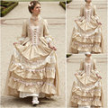 18 Century  Civil War Southern Belle Gown evening Dress/Victorian Lolita dresses/scarlett dress US6-26 SC-1045