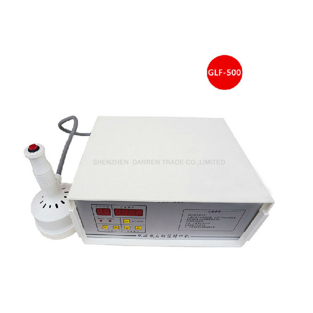 US $81 0 |Aluminum Foil Sealing Machine Elecomagnetic Induction Fast Work  Continuous Induction Sealer for Bottles GLF500-in Sealers from Home