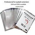 Thin Pestañas Extensión de Parches Bajo Almohadillas de Gel de Ojos Libre de Pelusa Parche en el ojo Del Colágeno para Extensiones de Pestañas Etiqueta Engomada de Papel DEL OEM 100 par
