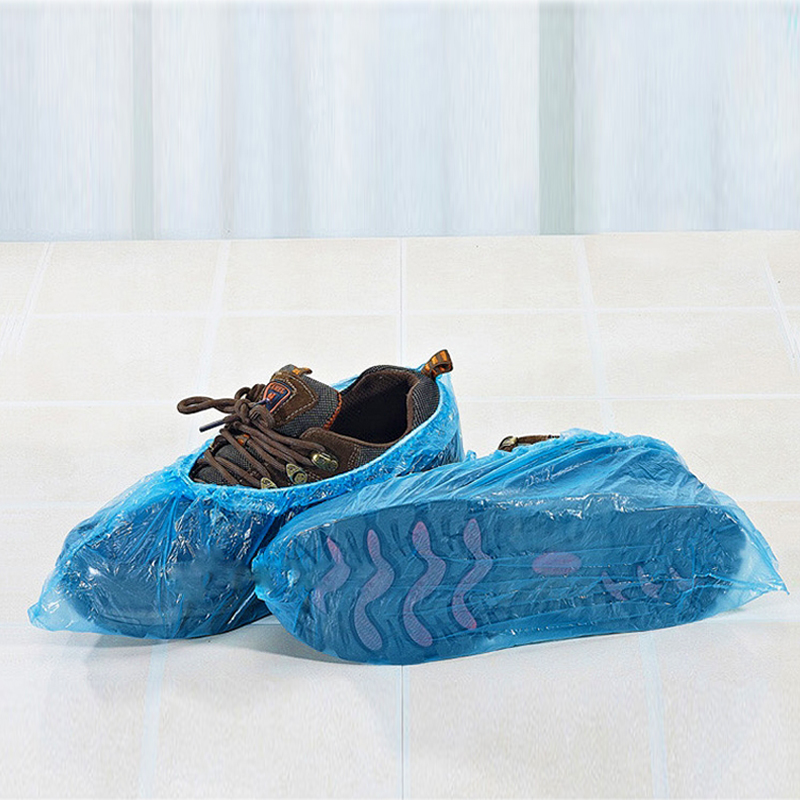 Security & Protection 100pcs Plastic Disposable Shoe Covers Carpet Protection Floor Protector Medical Indoor Carpet Floor Fashionable Patterns