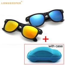 Новинка популярные детские солнцезащитные очки longkeeper для