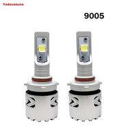 2 Sztuk 9005/HB3/H10 LED Żarówki Reflektorów XHP70 Conversion Kit OBIEKTYWU Cree Chip Długą Żywotność, Biały 80 W 6500 K 12, 000LMs High Bright