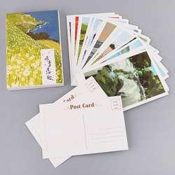 30 листов зимняя Соната Картины Ретро винтажная открытка Новый год Рождественская подарочная карта желаю плакат карт подарки C26
