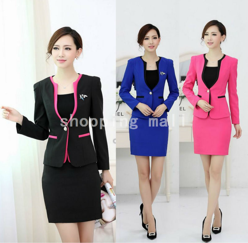 Formal Uniform Style 2015 Autumn Winter Professional Office Work ...