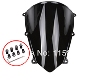 Black Motorcycle Windshield WindScreen Case For Honda CBR600RR CBR 600RR 2007 2008 2009 F5