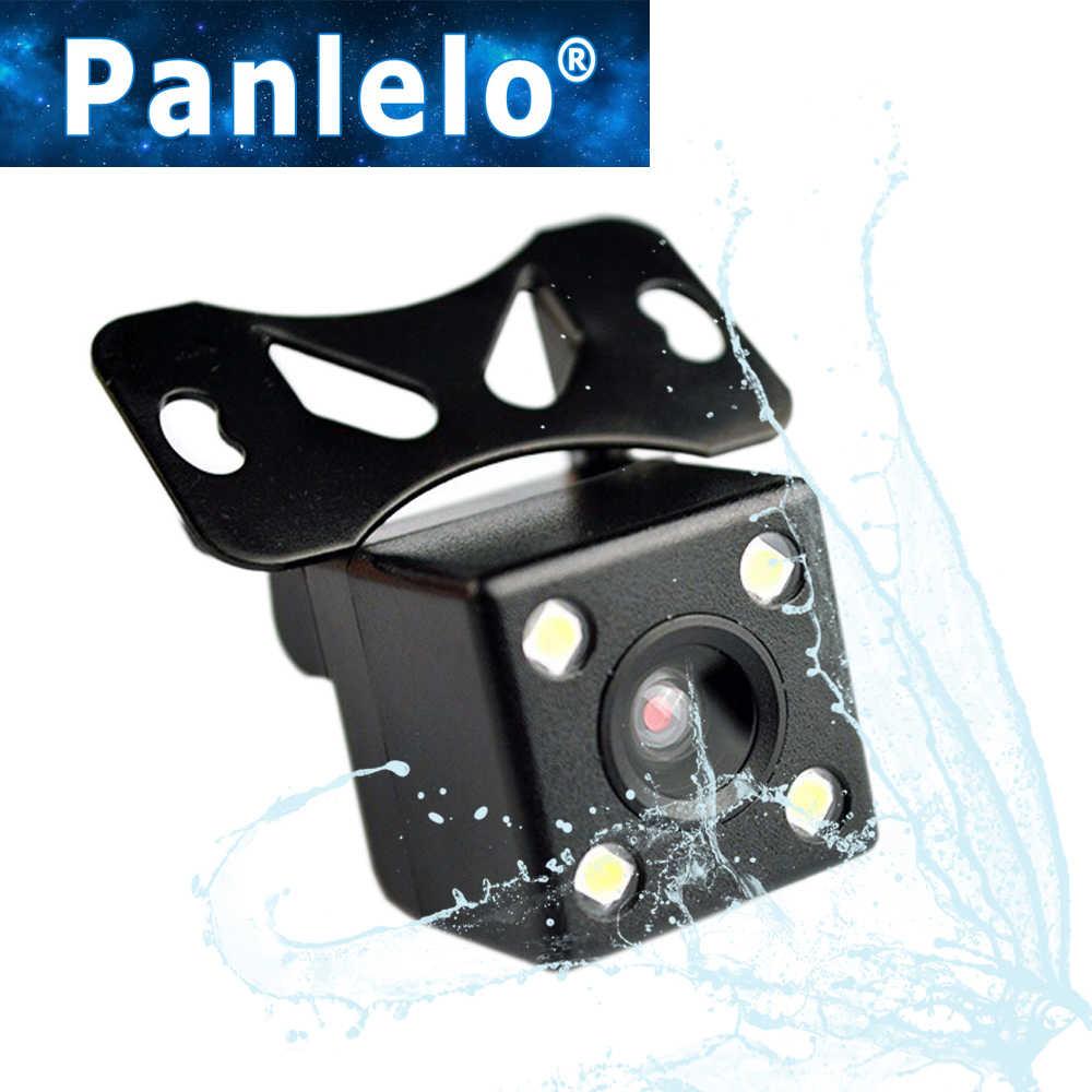 Panlelo HD Visión Nocturna de coche cámara trasera de marcha atrás de 170 grados cámara de marcha atrás Auto Universal cámara de respaldo de vehículo