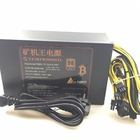 Free Ship 1600W Psu Ant S7 A6 A7 S7 S9 L3 Bitmain Antminer S9 BTC Miner