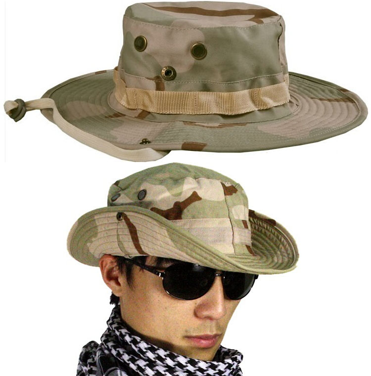 2149ee98 Camouflage Boonie Bucket Hats Camo Fisherman caps With Wide Brim Sun  Fishing Bucket Camping Hunting Hat Hunting Accessories on Aliexpress.com    Alibaba ...