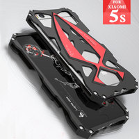 Luxury Luphie Case For Xiaomi 5S Metal Aluminum Shockproof Sports Car Design Back Cover Case Outdoor