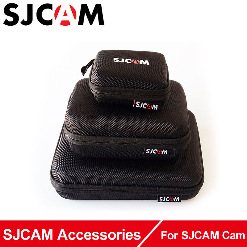 SJCAM Shockproof Protective Bag Case Box for GoPro Hero SJ CAM sj4000 sj5000 M10 SJ6 Legend SJ7 Star Action Camera Accessories bubm shockproof carrying camera case for gopro hero professional protector bag travel packsack for pioneer pro ddj sz dj