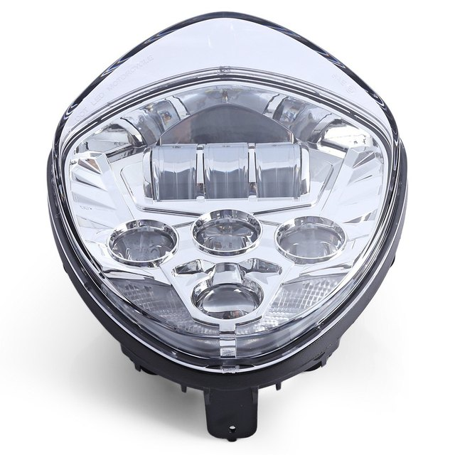 Motorcycle LED Water-resistance Headlight for Triumph Prevent Dizziness Shock-proof Water Resistance Easy to Install OL – V01