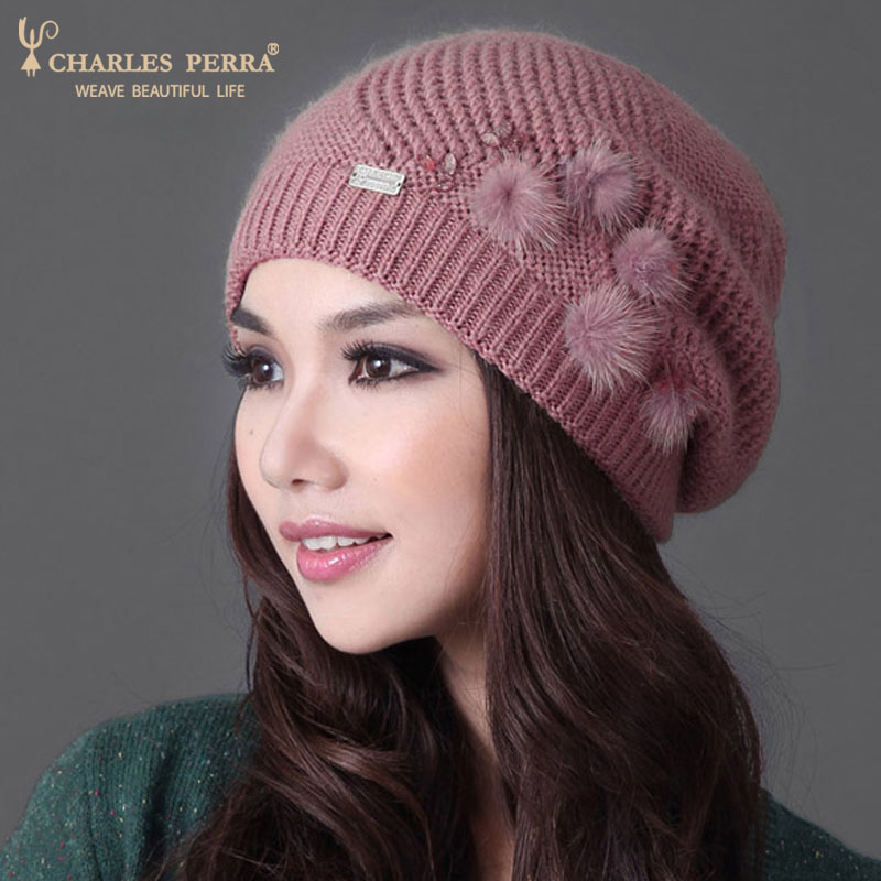 Winter Elegant Hat Beanies