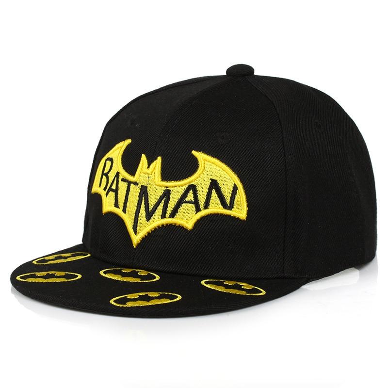 Novi dečki Dekleta Camo Caps Otroci Batman Visor Otroci Beanie Hip - Oblačila za dojenčke - Fotografija 4
